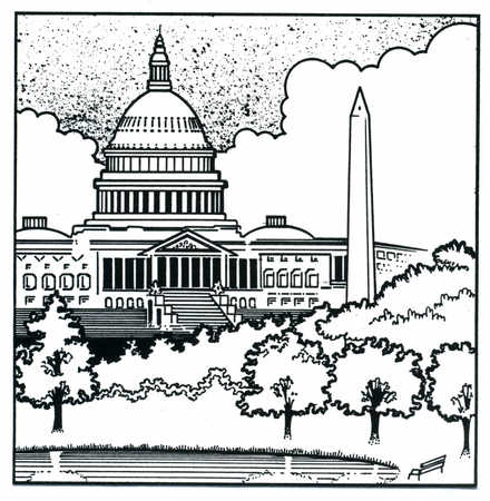 simple capitol building coloring pages - photo#18