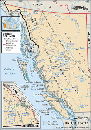 BC Mountain Ranges Map Submited Images