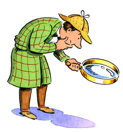 Inspector Magnifying Glass Detective Toy Wwwpicturessocom